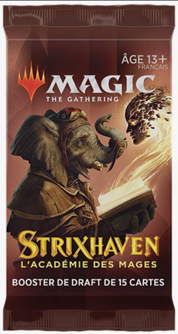 MAGIC : THE GATHERING - STRIXHAVEN : ÉCOLE DES MAGES - BOOSTER DE DRAFT