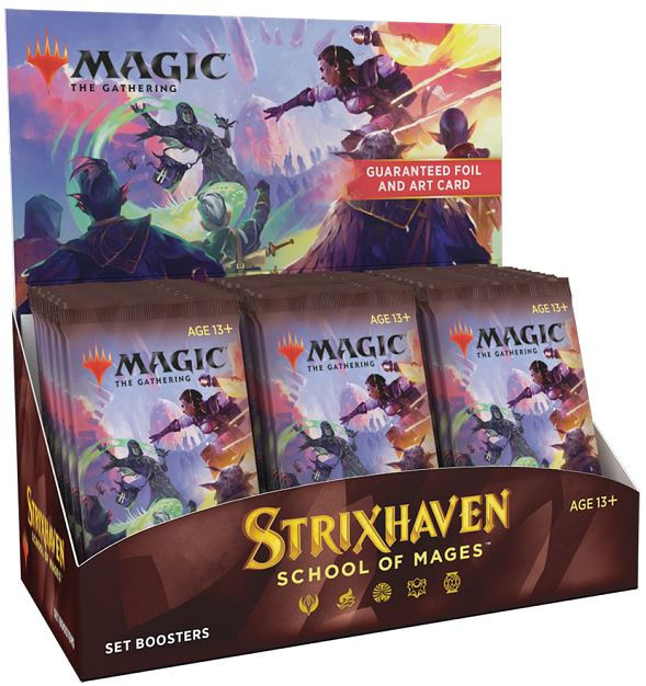 ASST PQT MAGIC: THE GATHERING - STRIXHAVEN: SCHOOL OF MAGES BOOSTER
