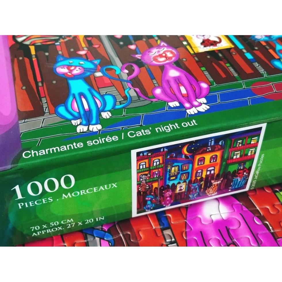 JACAROU CT 1000 PCS - CHARMANTE SOIRÉE