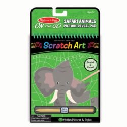 SCRATCH ART - SAFARI D'ANIMAUX