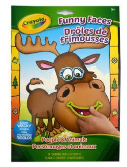 CAHIER À COLORIER DRÔLES DE FRIMOUSSES