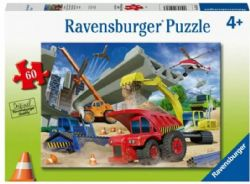 RAVENSBURGER CT 60 PCS - CAMIONS DE CONSTRUCTION