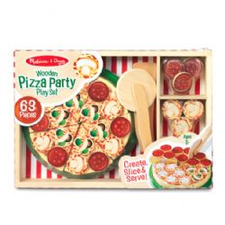 MELISSA AND DOUG - PIZZA PARTY EN BOIS
