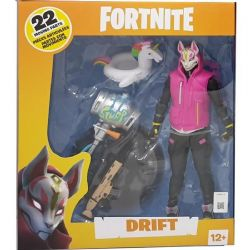 FIGURINES FORTNITE 7''  REX & DRIFT