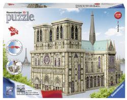 RAVENSBURGER CT 3D 324 PCS - NOTRE-DAME DE PARIS #12523