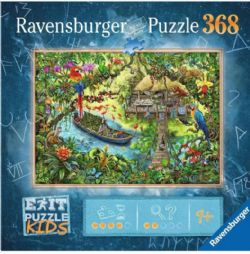 RAVENSBURGER CT 368 PCS - EXPÉDITION DANS LA JUNGLE