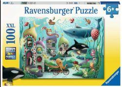 RAVENSBURGER CT 100 LARGES PCS - MERVEILLES SOUS-MARINES #12972