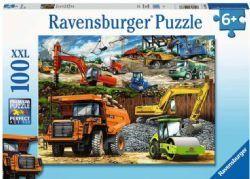 RAVENSBURGER CT 100 PCS - VÉHICULES DE CONSTRUCTION