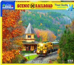 WMOUNTAIN CT 1000 PCS (LARGES PIÈCES) - TRAIN EN AUTOMNE