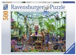 RAVENSBURGER CT 500PCS - UN MATIN DANS LA SERRE #14832