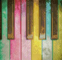 DIAMOND DOTZ - PIANO ARC-EN-CIEL