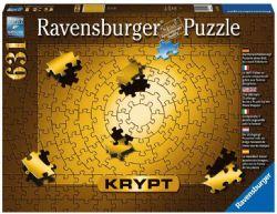 RAVENSBURGER CT 631 PCS - KRYPT - ENTIÈREMENT DE COULEUR OR #15152