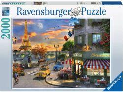 RAVENSBURGER CT 2000 PCS - UNE SOIRÉE ROMANTIQUE À PARIS #16716