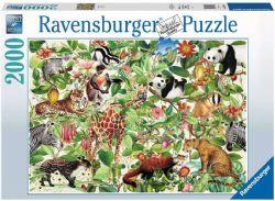 RAVENSBURGER CT 2000 PCS - JUNGLE #16824