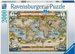 RAVENSBURGER CT 2000 PCS - AUTOUR DU MONDE #16825