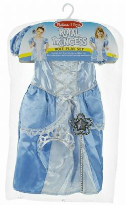 MELISSA AND DOUG - ROBE DE PRINCESSE ROYALE BLEUE