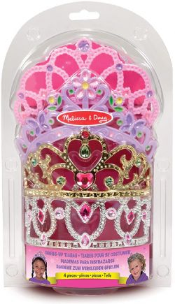 MELISSA AND DOUG - ENS 4 COURONNES DE PRINCESSE