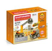 MAGFORMERS CHANTIER DE CONSTRUCTION 50PC