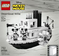 IDEAS - BATEAU À VAPEUR WILLIE - MICKEY MOUSE #21317
