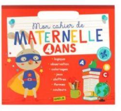 MON CAHIER DE MATERNELLE 4 ANS
