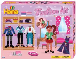 HAMA FASHION KIT (BOITE ROSE)