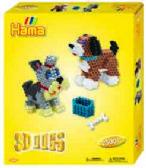 HAMA ENS 3D CHIENS BOITE JAUNE