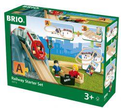BRIO #33773 - CIRCUIT DE TRAIN EN 8 - VOYAGEURS