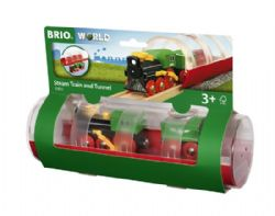 BRIO #33892 - TRAIN À VAPEUR ET TUNNEL