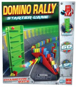 DOMINO RALLY  LE DÉPART