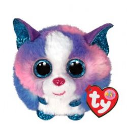 PELUCHE TY - CLÉO HUSKY MULTICOLORE PUFFIES 4