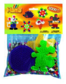MINI HAMA EN SAC PQT 3000PCS JAUNE