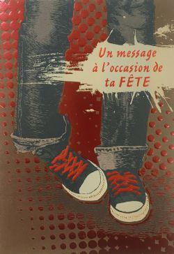 CARTE D'ANNIVERSAIRE ADOLESCENT - DE ROSEDALE