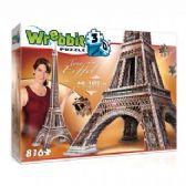 WREBBIT CT 816PCS 3D - LA TOUR EIFFEL