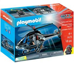 ***PLAYMOBIL HELICOPTÈRE D'UNITE SPECIALE #5675