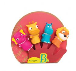 MARIONNETTES À DOIGTS ZOO PINKY PALS