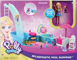 PISCINE TOBOGGAN  POLLY  POCKET