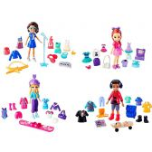 POLLY POCKET - SUPER COFFRET STYLE ESCOUADE
