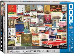 EUROGRAPHICS CT (1000 PCS) - COLLECTION PUBLICITAIRE CADILLAC