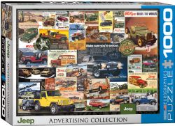 EUROGRAPHICS CT (1000 PCS) - COLLECTION PUBLICITAIRE JEEP