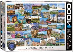 EUROGRAPHICS 1000 PCS - LE BOURLINGUEUR - FRANCE