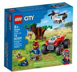 CITY - LE QUAD DE SAUVETAGE DES ANIMAUX SAUVAGE #60300