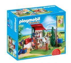 PLAYMOBIL - BOX DE LAVAGE POUR CHEVAUX #6929