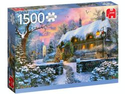 JUMBO CT 1500PCS - WHITESMITH'S COTTAGE IN WINTER