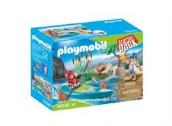 ***PLAYMOBIL - STARTER PACK SPORTIFS ET KAYAK #70035