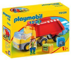 PLAYMOBIL - CAMION BENNE #70126