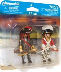 PLAYMOBIL DUO PIRATE ET SOLDAT #70273