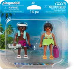 PLAYMOBIL DUO COUPLE DE VACANCIERS #70274