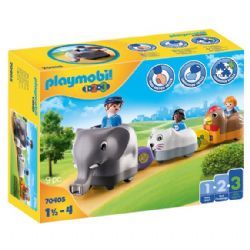 PLAYMOBIL TRAIN DES ANIMAUX #70405