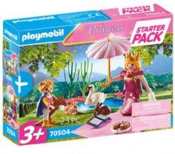 PLAYMOBIL STARTER PACK REINE ET ENFANT #70504