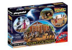 PLAYMOBIL - CALENDRIER DE L'AVENT RETOUR VERS LE FUTUR PARTIE III  #70576